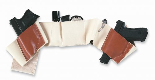 Galco UnderWraps Belly Band - Khaki/Medium (36