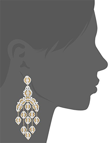 Miguel Ases Opalite Quartz Cascading Drop Earrings by Miguel Ases (Image #2)