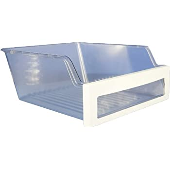 Amazon lg electronics 3550jj0009a refrigerator shelf frame lg electronics 3391jj2012d refrigerator vegetable crisper drawer clear with white trim publicscrutiny Image collections