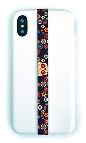 Phone Loops Phone Grip Finger Strap Accessory for Mobile Cell Phone (Calavera) from Phone Loops