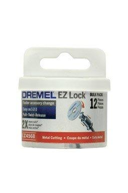Dremel EZ456B 1 1/2-Inch EZ Lock Rotary Tool Cut-Off Wheels For Metal - 12 pieces