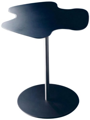 Lookboard 173021 M-M310 Flower Power Side Table, Anthracite