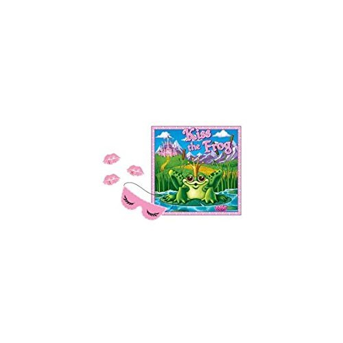 Kiss The Frog Party Game ()