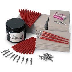 Nasco Soft-Kut Lino Block Printing Starter Kit - Youth and After School Education Program - 9729988 (Pack Teacher Starter)
