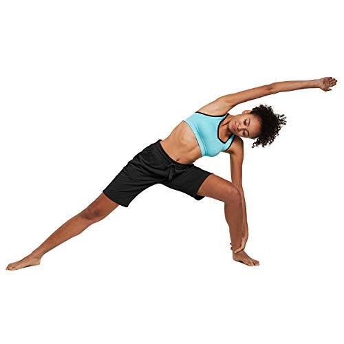 BALEAF EVO Womens 10 Comfy Soft Bermuda Shorts Lightweight Yoga Pajama Jersey Shorts Lounge Long Pocket Shorts