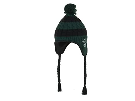 Fan Apparel New York Jets Womens Sherpette Knit Hat with Pom and ... cfe7de0ea0