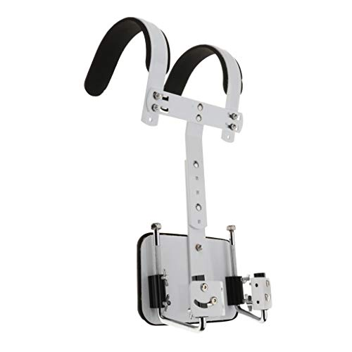 Baosity Adjustable Aluminium Alloy Marching Small Snare Drum Carrier Holder for - Marching Snare With Carrier