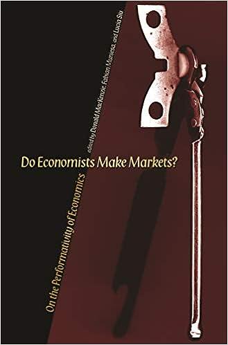 Do Economists Make Markets?: On the Performativity of Economics