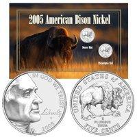 2005 American Bison Nickels