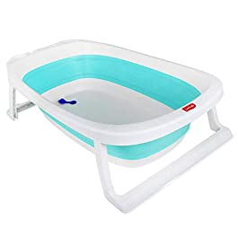 Luvlap Baby Splash Bathtub Compact & Easy fold (Green)