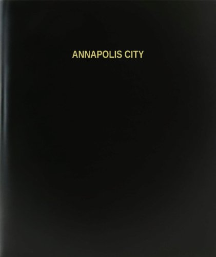 BookFactory® Annapolis City Log Book / Journal / Logbook - 120 Page, 8.5