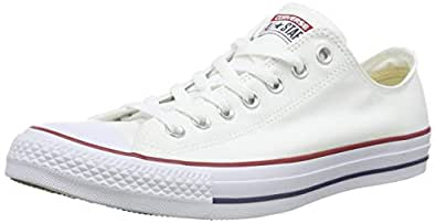 Converse Chuck Taylor All Star Sneakers Unisex, Optical White : 3.5 US Men / 5.5 US Women