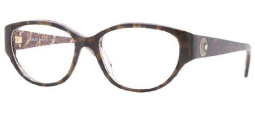 Versace VE3183 Eyeglasses-5083 Havana/Baroque-52mm by Versace