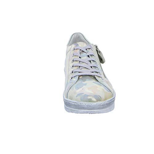 Basses Sneakers Remonte silver Femme D5800 Multicolore multi 96 ice rqq5Eaw