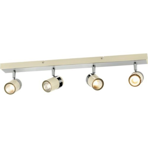 Essentialz Living Shiro Light Spotlight Bar Cream And Chrome - Kitchen light fixtures argos