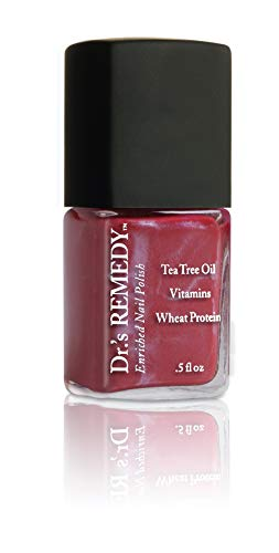 Dr.'s REMEDY Enriched Nail Polish, CHEERFUL Cherry, 0.5 fl. oz.