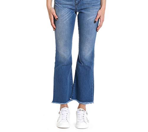 Zandrawomandendanny Donna Jeans Cotone Roger's Roy Blu qw4t8SRRC