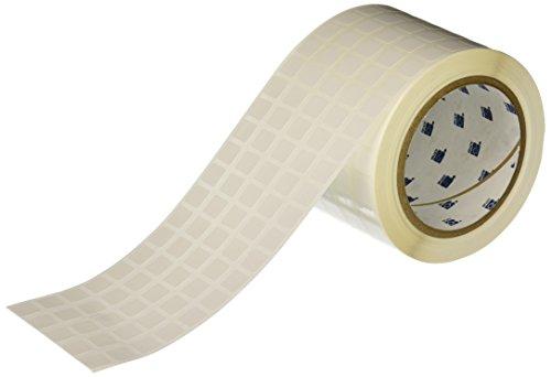 Brady THT-12-533-10 Label, Removable Polyester, 0.437