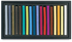 Jack Richeson 427337 Signature Assorted Hard Square Pastels (Set of 72)