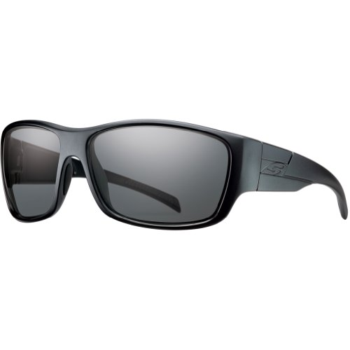 Smith Optics Elite Frontman Tactical Sunglass, Polarized Gray, - Polarized Smith Sunglasses