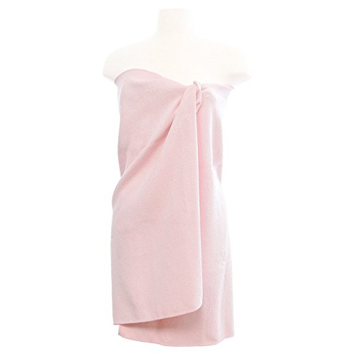 Aquis - Original Lisse (Smooth Fabric) Body Towel, Ultra Absorbent & Fast Drying Microfiber Towel, Soft Pink (29 x 55 Inches)