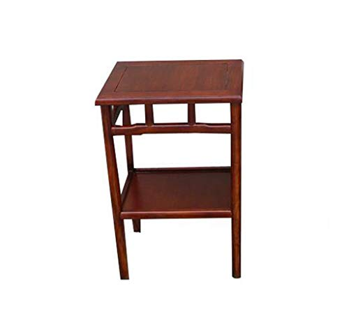 Chang Antique Coffee Table Simple Modern Chinese Style Living Room Corner Mini Solid Wood Multifunctional Storage - Antique Chinese Table Round Furniture