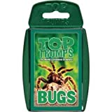 TOP TRUMPS - CLASSIC BUGS! Perfect for indoors, travelling, camping and holidays