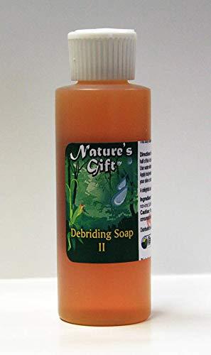 All Natural Debriding Soap 4 oz (Best Bath For Morgellons)