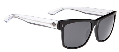 Spy Haight Sunglasses Black/Crystal Grey, One Size (Sunglasses Spy Crystal)