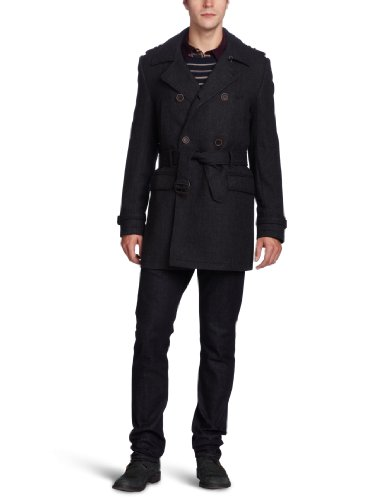 Ted Baker Men's Normac Herringbone Coat