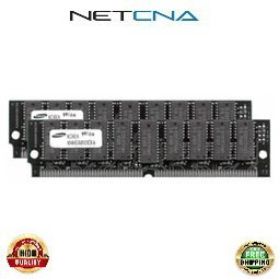 32d Dram Memory (MEM3640-2X32D 64MB (2x32MB) Cisco 3640 Router Approved DRAM Memory Kit 100% Compatible memory by NETCNA USA)