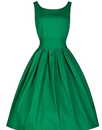 Green Polyester Casual Dress For Women