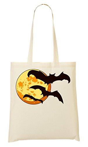 Sac CP Tout Provisions Full Fourre Sac Bats Halloween À Artwork Moon CXq1wC