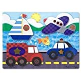 Melissa & Doug Vehicles Touch and Feel