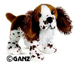 Webkinz Brown Springer Spaniel