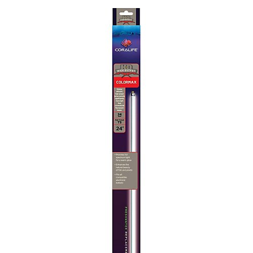 Coralife 22 Inch 24 Watt Colormax T5 High Output Fluorescent Lamp