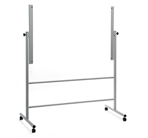 Audio-Visual Direct Glass Dry-Erase Board Mobile Stand (39 1/2
