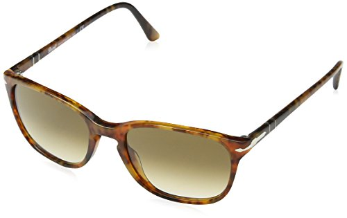 Persol PO3133S Sunglasses 901651-52 - Caffe' Frame, Clear Gradient - Persol Clear Frame