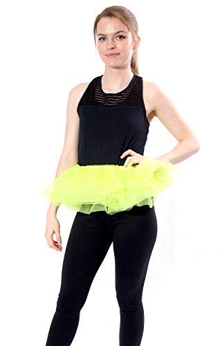 Adult Poofy Ballet Style Tutu for Holiday Costume, Princess Tutu, Ballet Tutu, Dance Outfit, or Fun Run Apple Green -