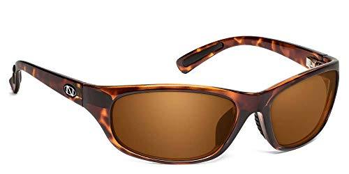 Ono's Trading Company 2.00 Mag Power Polarized Sunglasses (Tortoise, Amber)]()