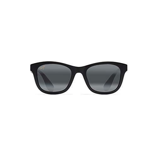 Maui Jim Unisex Hana Bay Matte Black/Neutral Grey One Size