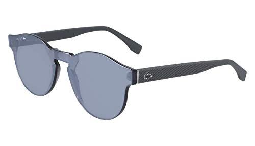 Lacoste L903s Shield Sunglasses Matte Grey Solid 58 ()