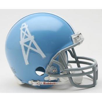 Riddell Tennessee Titans/Houston Oilers AFL 50th Anniversary Replica Mini - Helmet Replica Mini Tennessee