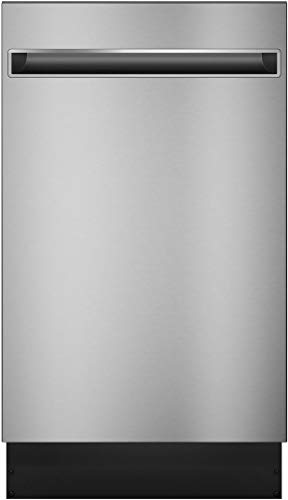 "GE Profile Series 18"" Top Control Built-In Dishwasher with Stainless Steel Tub Stainless steel PDT145SSLSS"