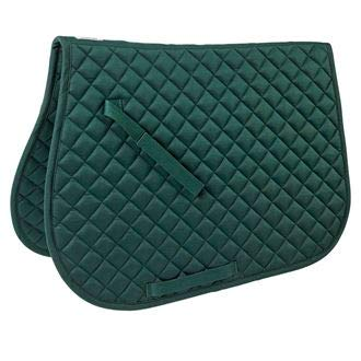 Dover Saddlery Quilted All-Purpose Saddle Pad, Hunter ()