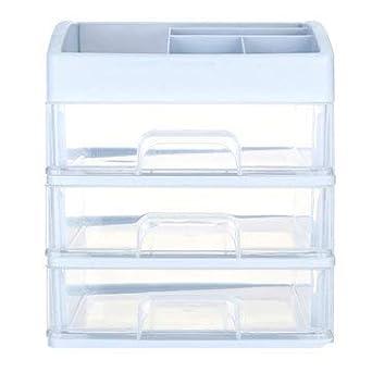 ExcLent 1/2/3 Capas Plástico Organizador De Escritorio Cajón Caja ...