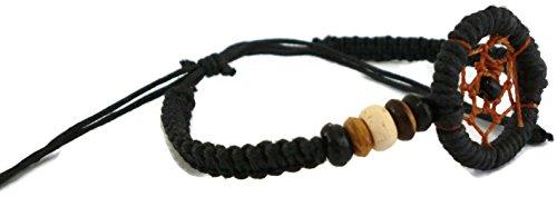 Dream Catchers Shambhala Bracelet 6 to 9 with a Sliding Knot Adjustable Closure Braided Bracelet