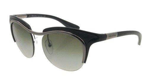 Amazon.com: Prada anteojos de sol SPR 68o Negro 5 AV-3 M1 ...