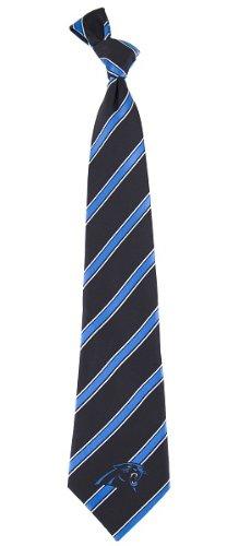 NFL Carolina Panthers Men's Woven Polyester Necktie, One Size, Multicolor (Carolina Woven Tie)
