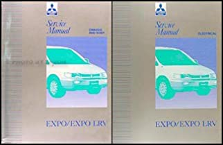 1992 1993 mitsubishi expo expo lrv service shop manual original 2 rh amazon com Mitsubishi Expo Electrical Relay Mitsubishi Expo LRV Craigslist CT